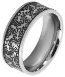 Akzent unisex ötvözött acél gyűrű
