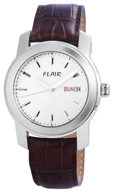 Flair férfi karóra valódi bőrszíjjal - Férfi 03351bd341