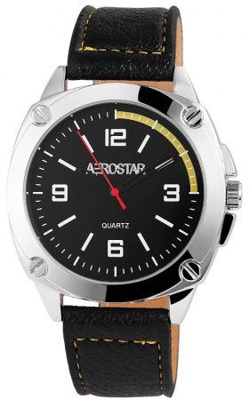 Aerostar férfi karóra műbőr szíjjal