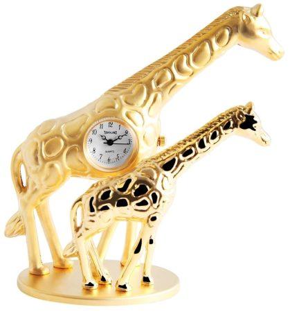Tavolino miniatűr zsiráf óra