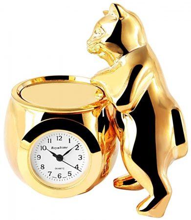 Royaltime miniatűr macska óra