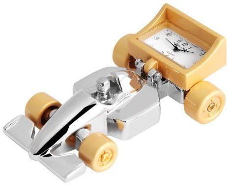 Tavolino miniatűr versenyautó óra
