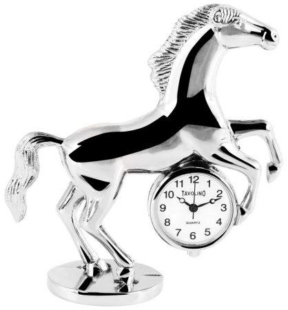 Tavolino miniatűr ló óra