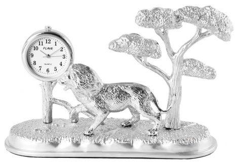 Dawn miniatűr oroszlán, fa óra