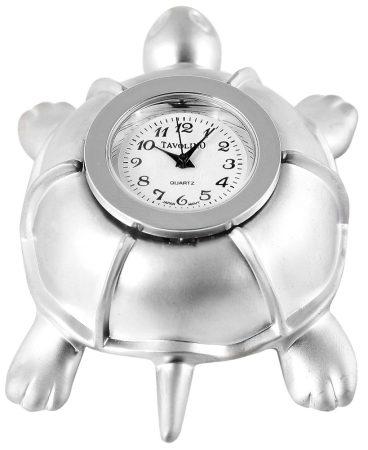 Tavolino miniatűr teknős óra