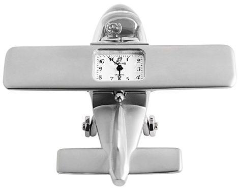 Tavolino miniatűr repülőgép óra
